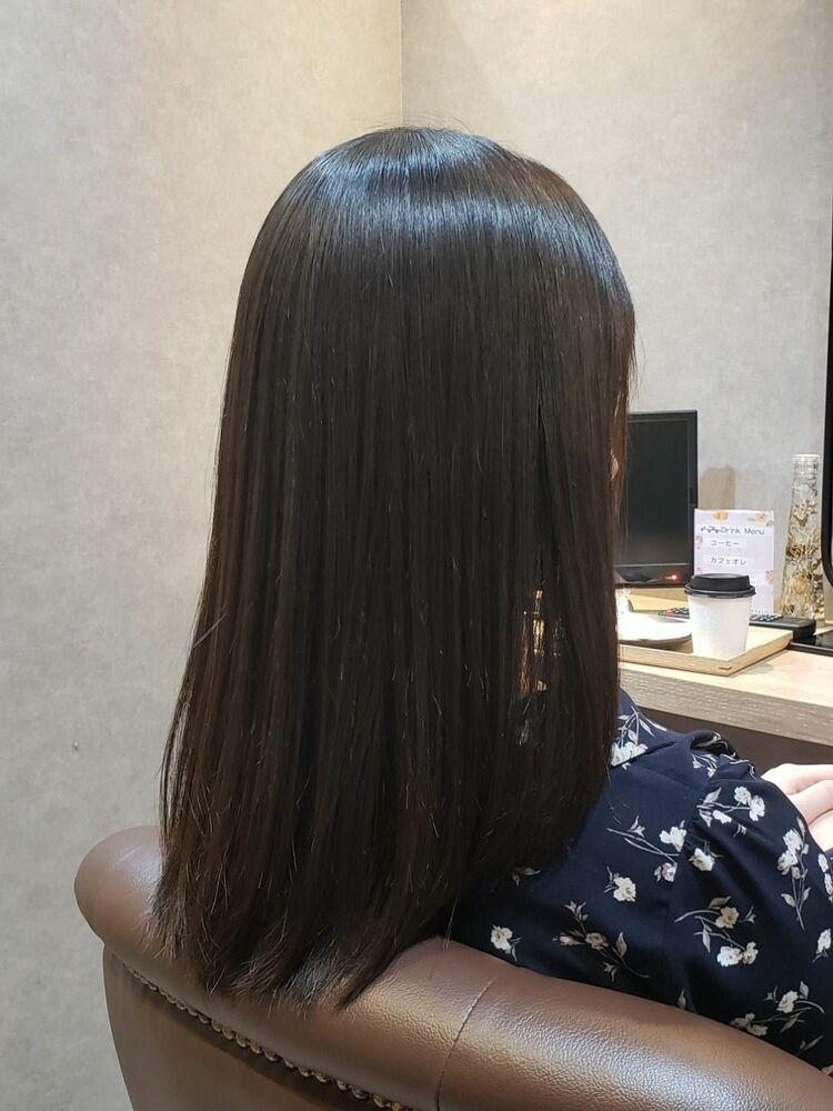 きれいな髪にさらに艶が出ました!