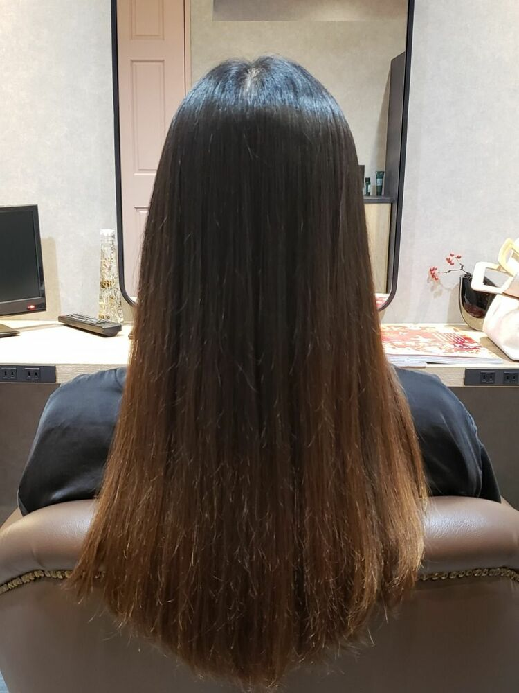髪をよりきれいにみせるためのトリートメントケア