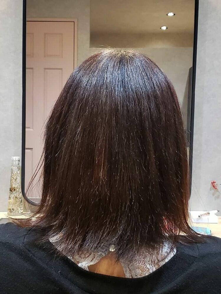 20ヶ月前の髪質改善before&After