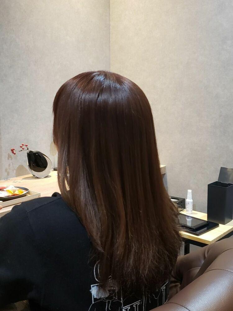 髪質改善カラーケア