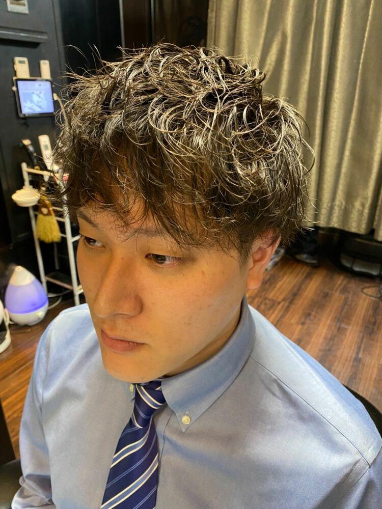 ソフトツイストスパイラル/神田/理容室/ヒロ銀座