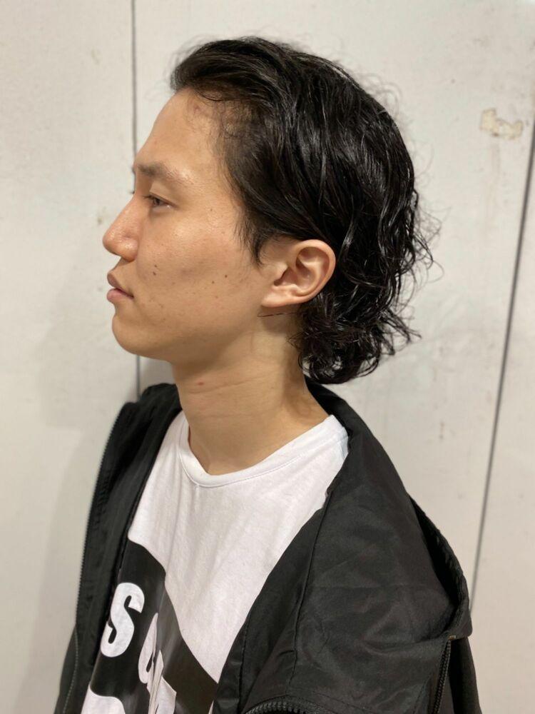 窪塚洋介風パーマ