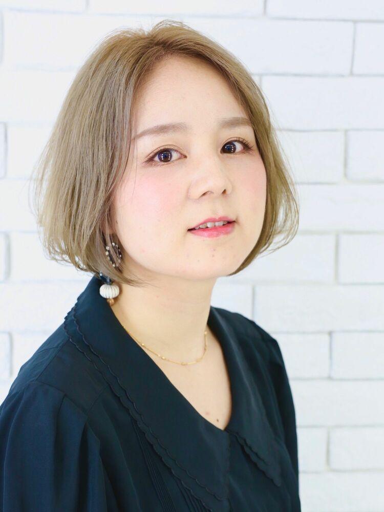 enam 新宿東口 王道☆ひし形ボブ!