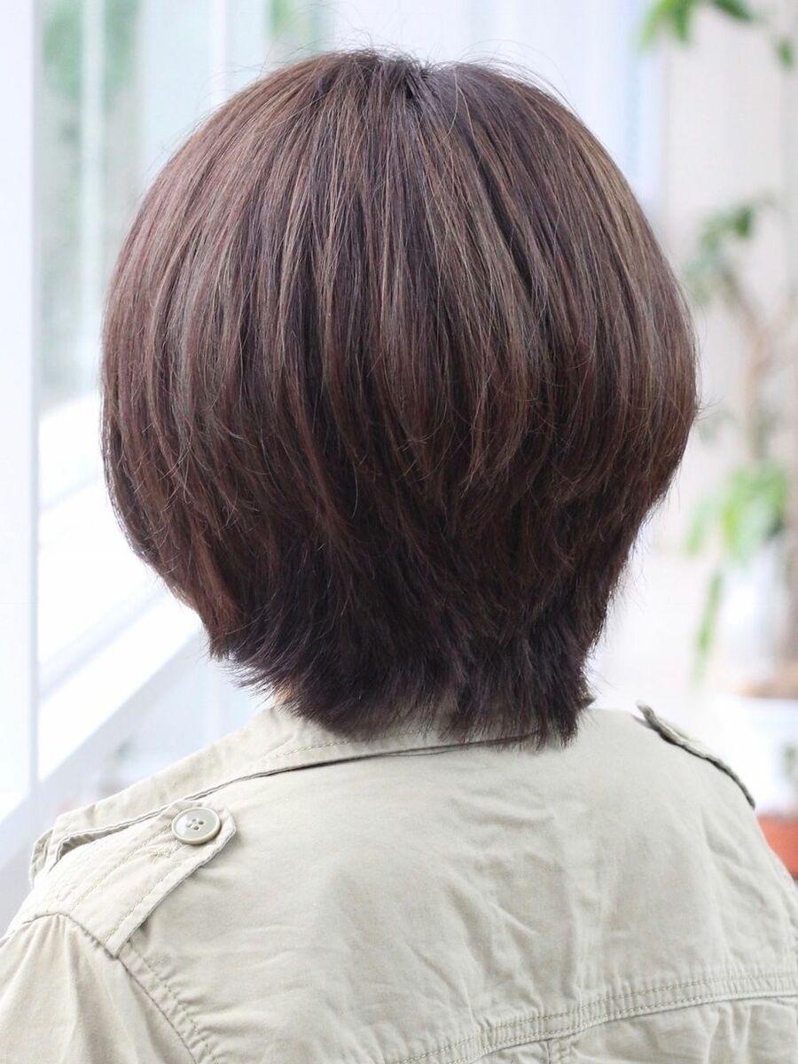 前髪なしのマッシュウルフはかっこいい女の子のショートヘア理想の菱形シルエットミスエッセンス竹下
