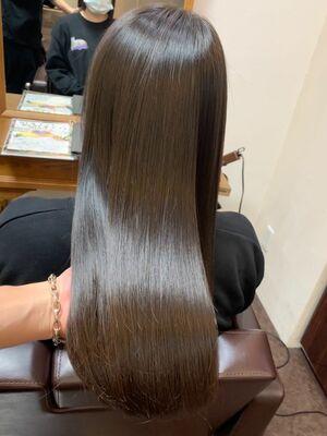 最強の髪質改善サロンソリューショントリートメント