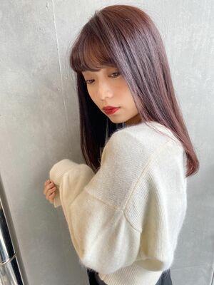 艶髪ストレート インスタ@ayana___0412