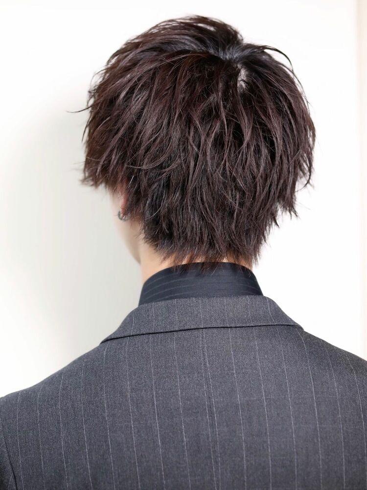 スーツにキメ髪[ほぐれスパイラルショート]