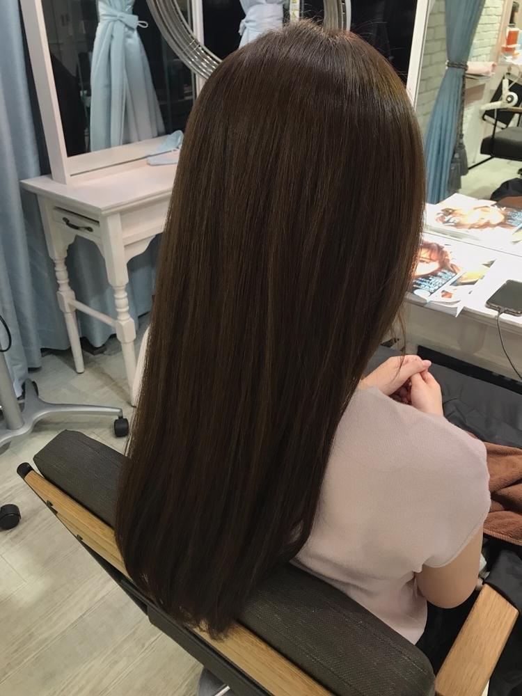 恵比寿 Lond 佐野 サラサラな質感に 髪質改善 地毛のような手触りに 縮毛矯正