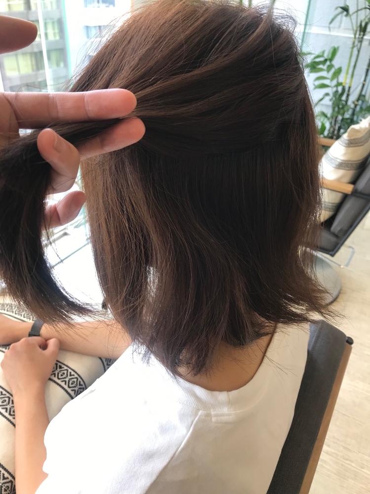 恵比寿 Lond 佐野 髪質改善 自然でサラサラな縮毛矯正