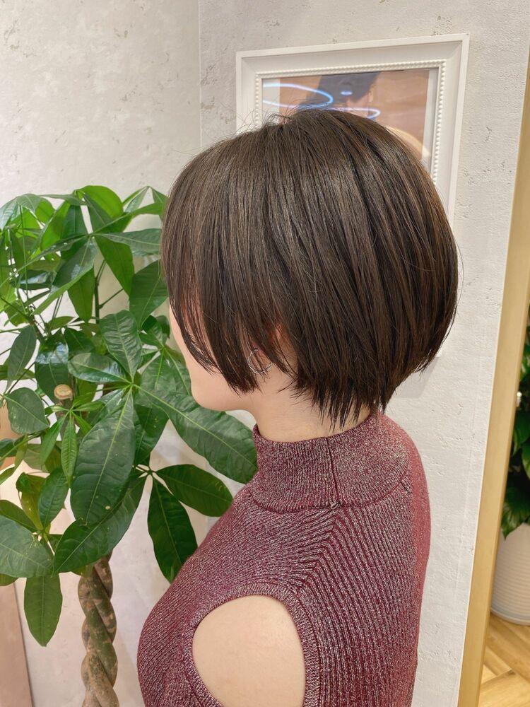 恵比寿 Lond 佐野 大人かわいい小顔ショートボブ