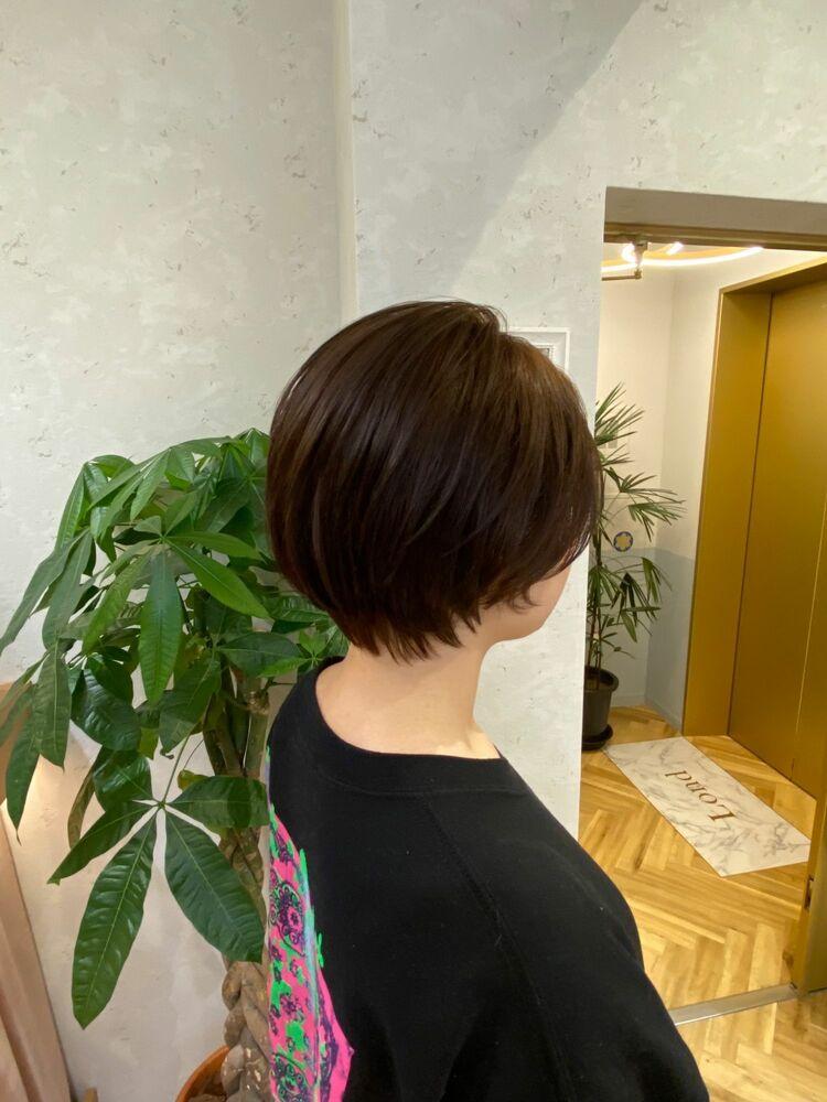 恵比寿 Lond 佐野 大人かわいい ショートヘア