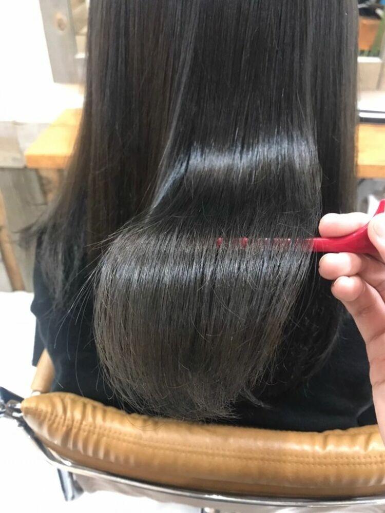 恵比寿 Lond 佐野 サラサラストレート 髪質改善 縮毛矯正