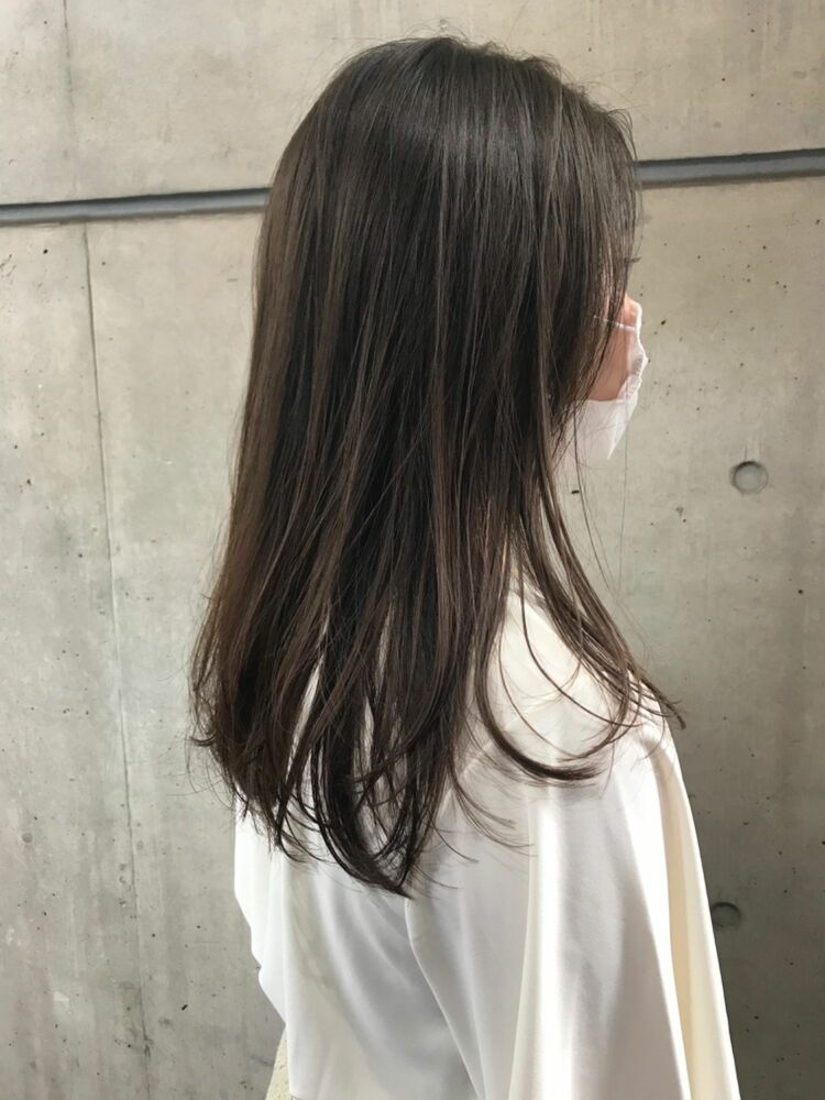 暗めヘルシーカラー!MINX青山/表参道駅1分/insta@miyuritanaka