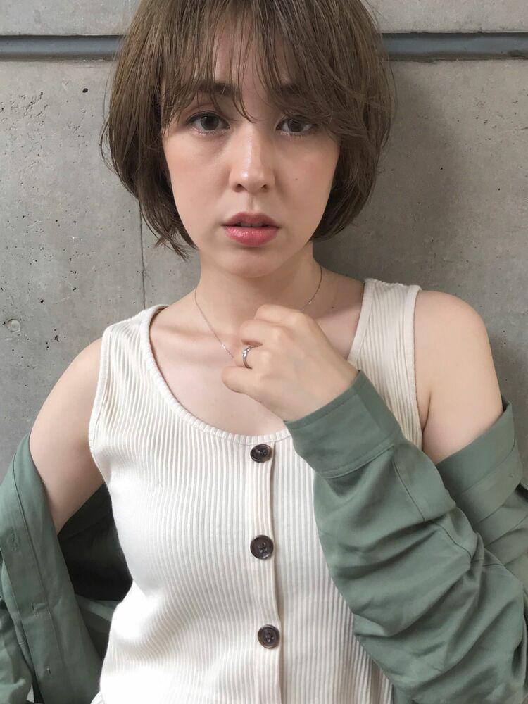 春のヘルシーショートボブ❤︎MINX青山/表参道駅1分/insta@miyuritanaka