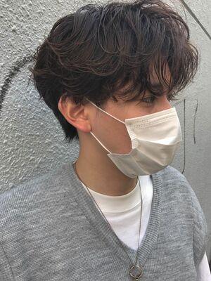 メンズのヘルシーパーマ!MINX青山店/表参道駅1分/insta@miyuritanaka