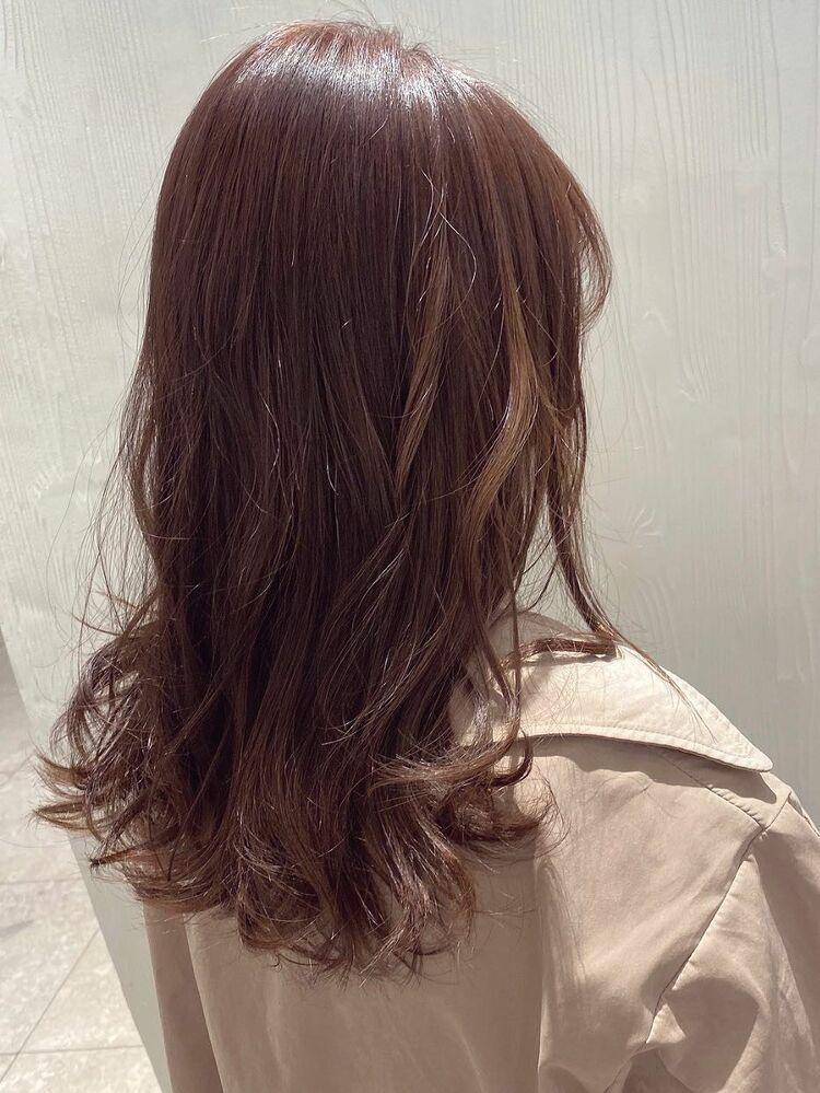 pink × brown