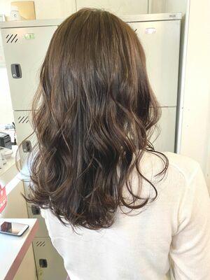 vicus hair《YURI》透明感たっぷり☆ブリーチなしの柔らかアッシュベージュ♪