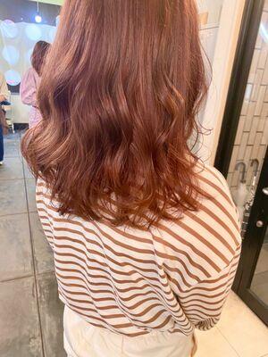 vicus hair《YURI》春の定番☆愛され無敵ピンクカラー☆