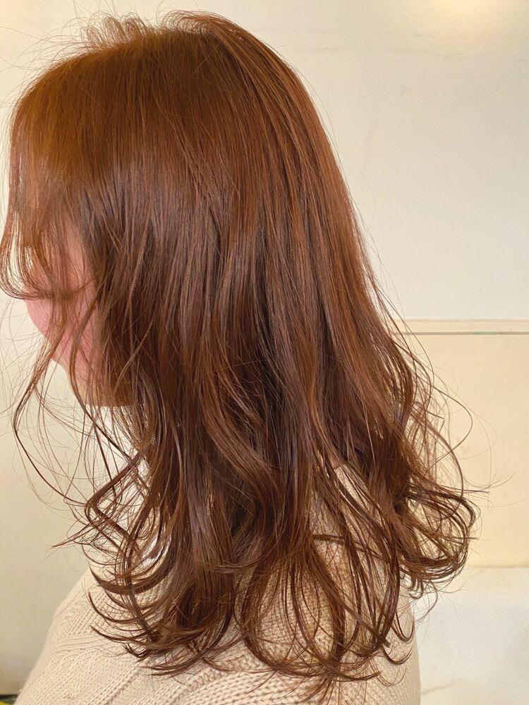vicus hair《YURI》トレンド真っ最中のオレンジ系カラー♪垢抜けたいならオレンジカラーで☆