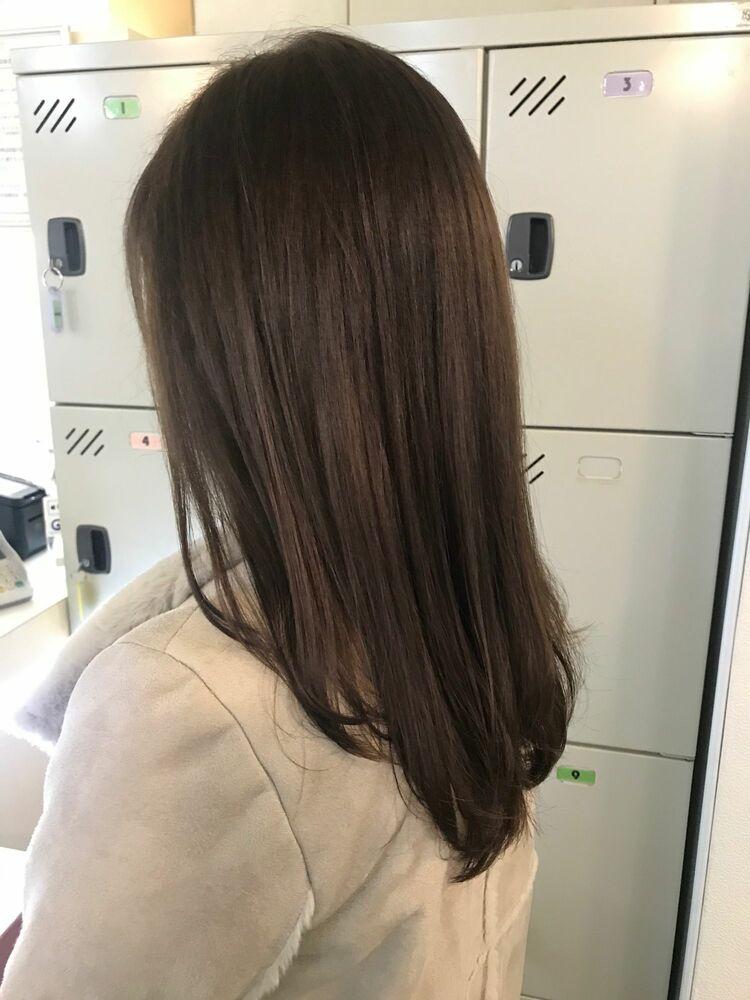 vicus hair《YURI》ブリーチなし☆オリーブグレージュ♪