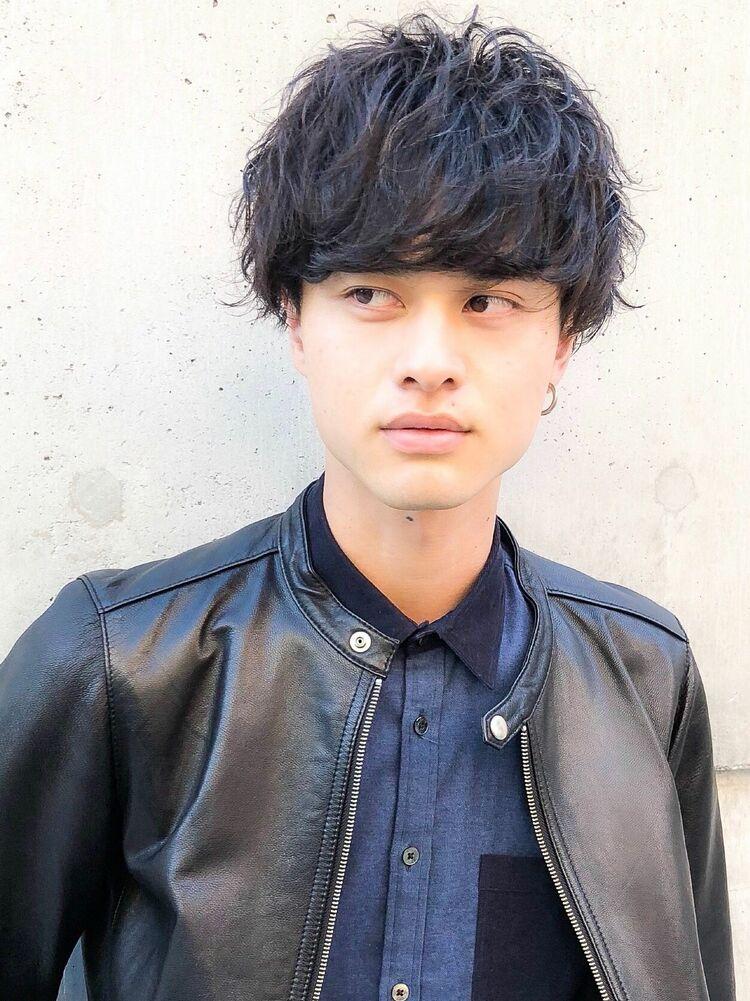 CANAAN表参道 黒髪マッシュ×ナミツイスト×ツイストスパイラル