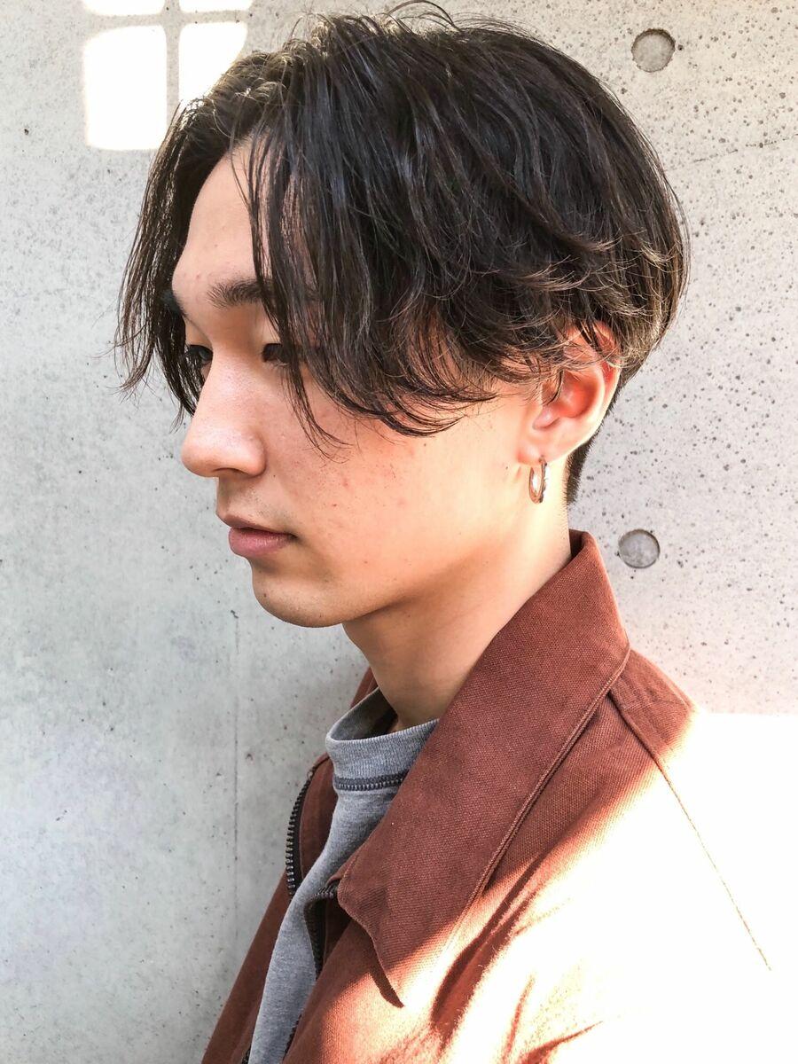 CANAAN表参道 ゆるナミパーマ×センターマッシュ