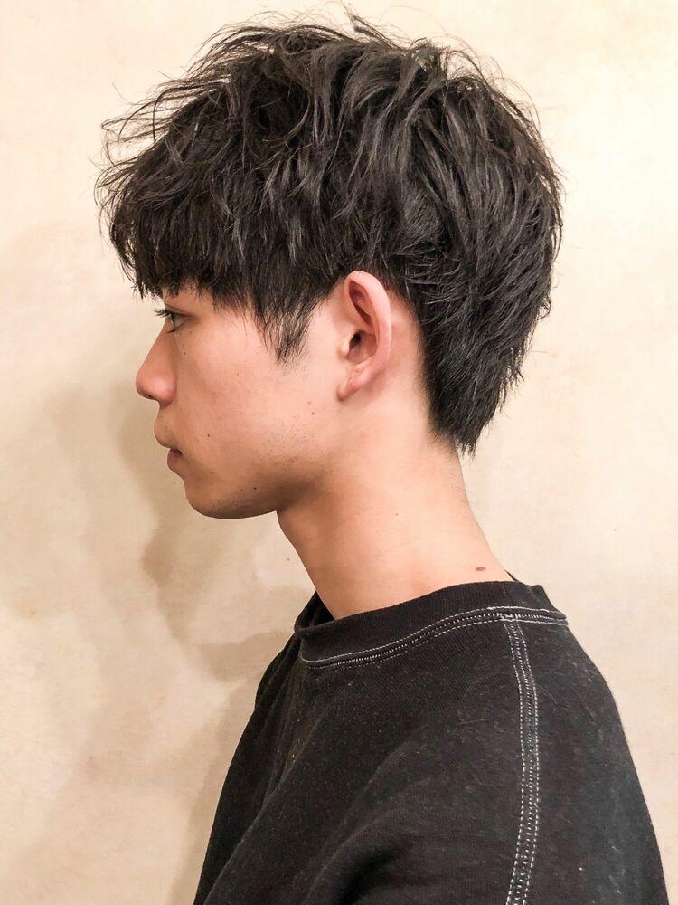 CANAAN表参道 マッシュ×スパイラルネオパーマ