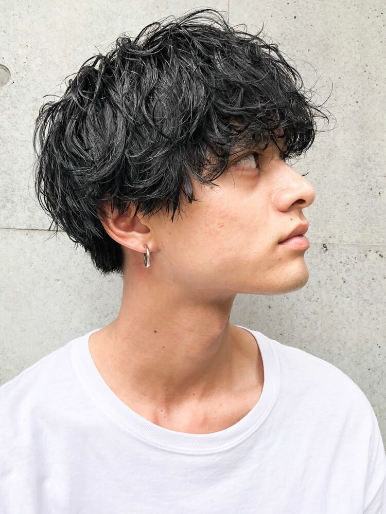 CANAAN表参道 黒髪マッシュ×ツイストスパイラル