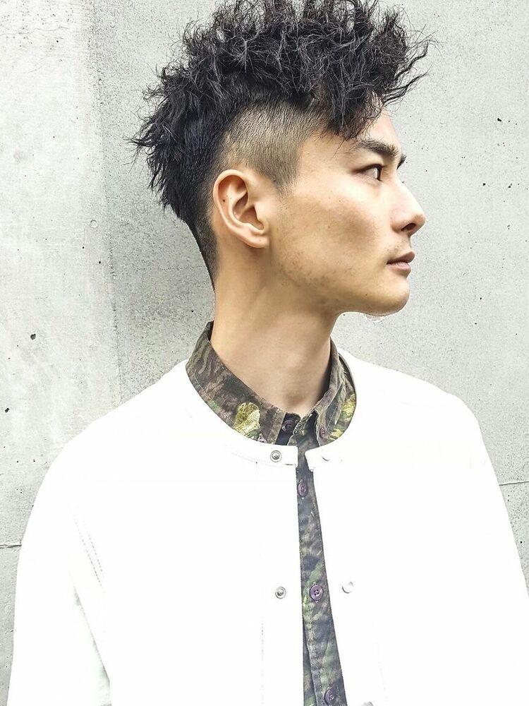 CANAAN表参道 ワイドツーブロック×ツイストパーマ
