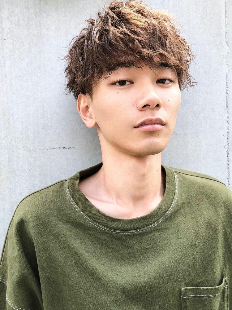 CANAAN表参道 マッシュ×ツイストスパイラル×束感