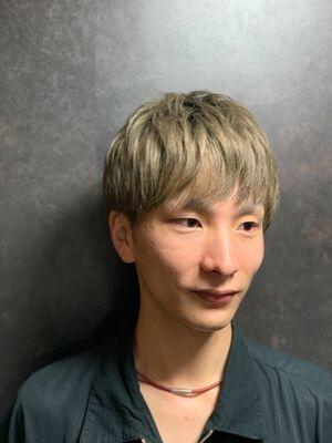 前髪アシンメトリーカット