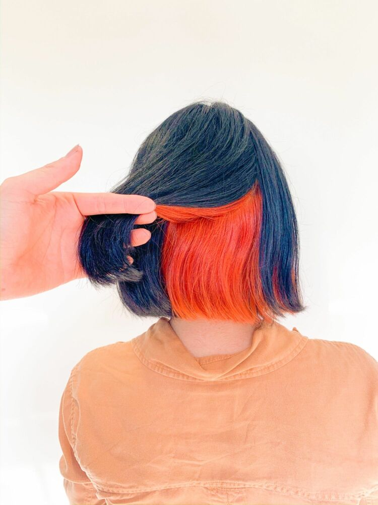 インナーカラー・オレンジ