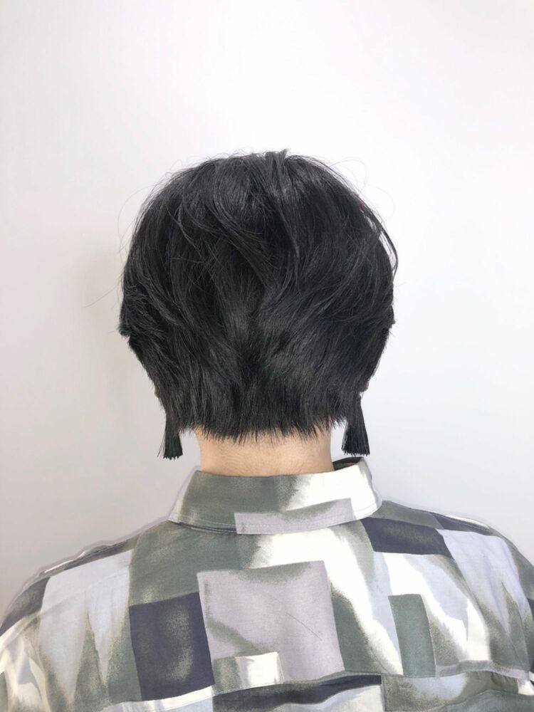 襟足スッキリ長澤まさみショート