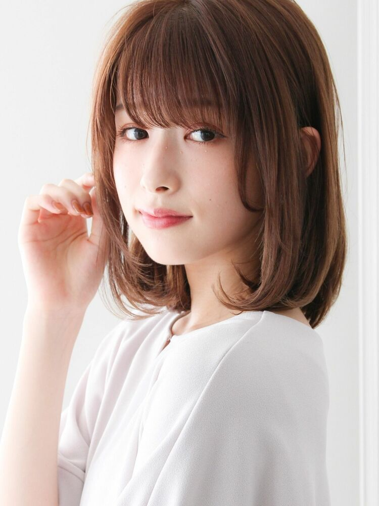 20代♪アッシュカラー×フレンチボブ×透明感ヘア☆