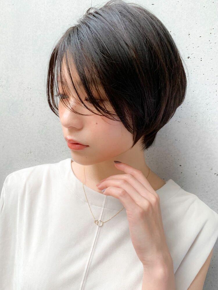 大人可愛いショートヘア×アッシュブラウン☆