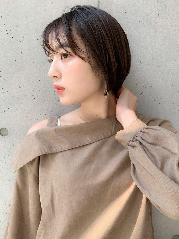 ミニマムショートボブ×シースルーバング☆