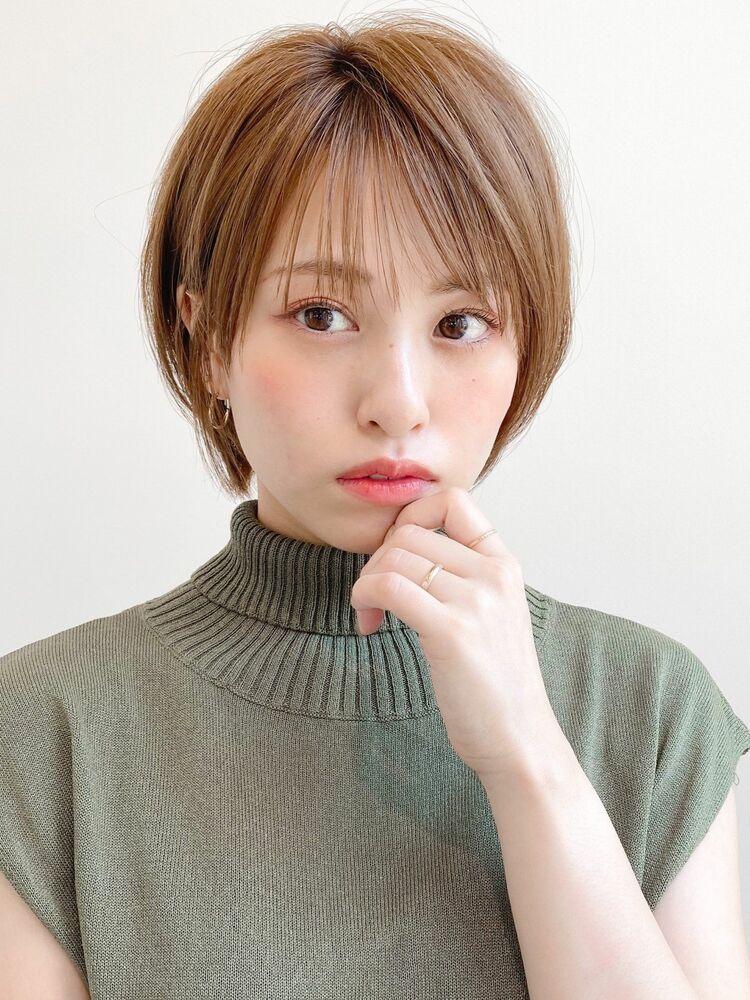 大人可愛いショートヘア×アッシュカラー☆