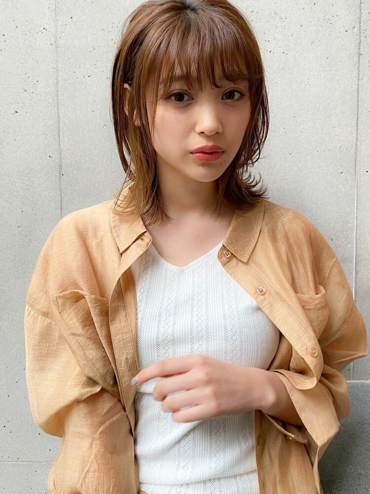 ナチュラルセミディ×低温デジタル毛先パーマ☆