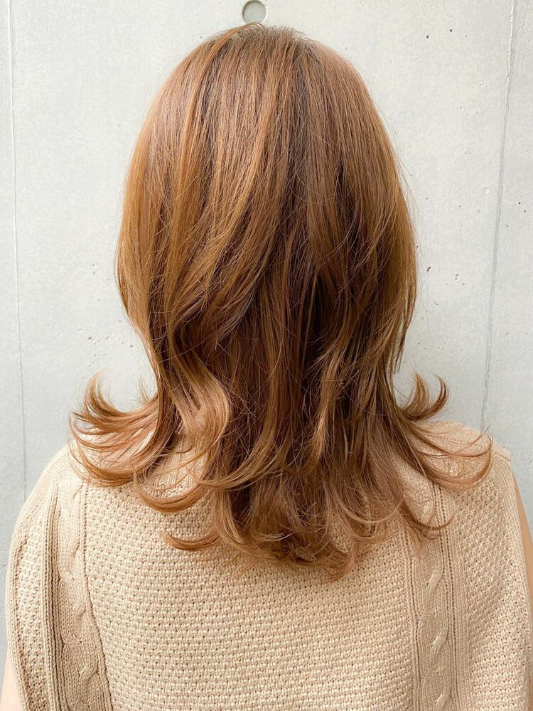 20代30代☆デジタルパーマでかける毛先パーマがかわいい最新ミディアムヘア♪