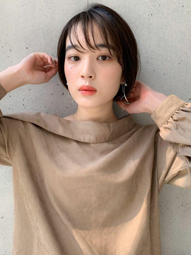 ミニマムボブ×シースルーバング☆