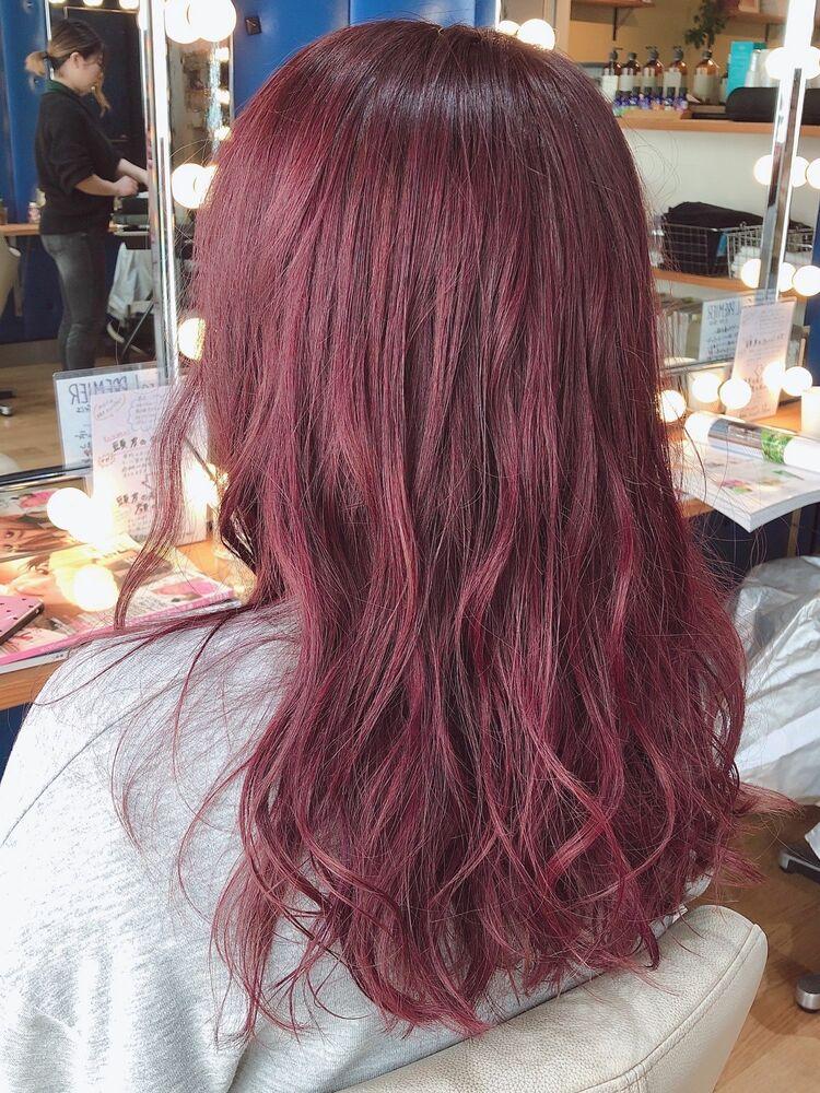 『PRESENCE BRAINS 下北沢』大人かわいい☆ラズベリーピンク