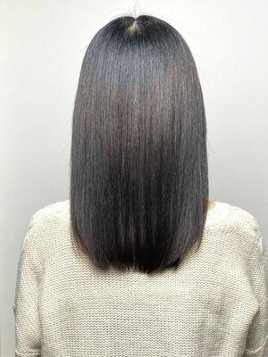 髪質改善トリートメントの真骨頂★艶のある大人かわいいレア髪♪