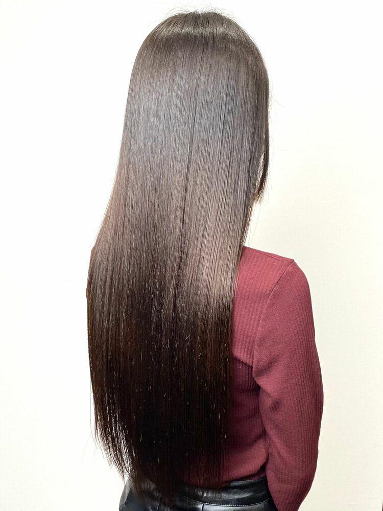 2回目の来店★繰り返しの髪質改善トリートメントで輝く艶髪に◎