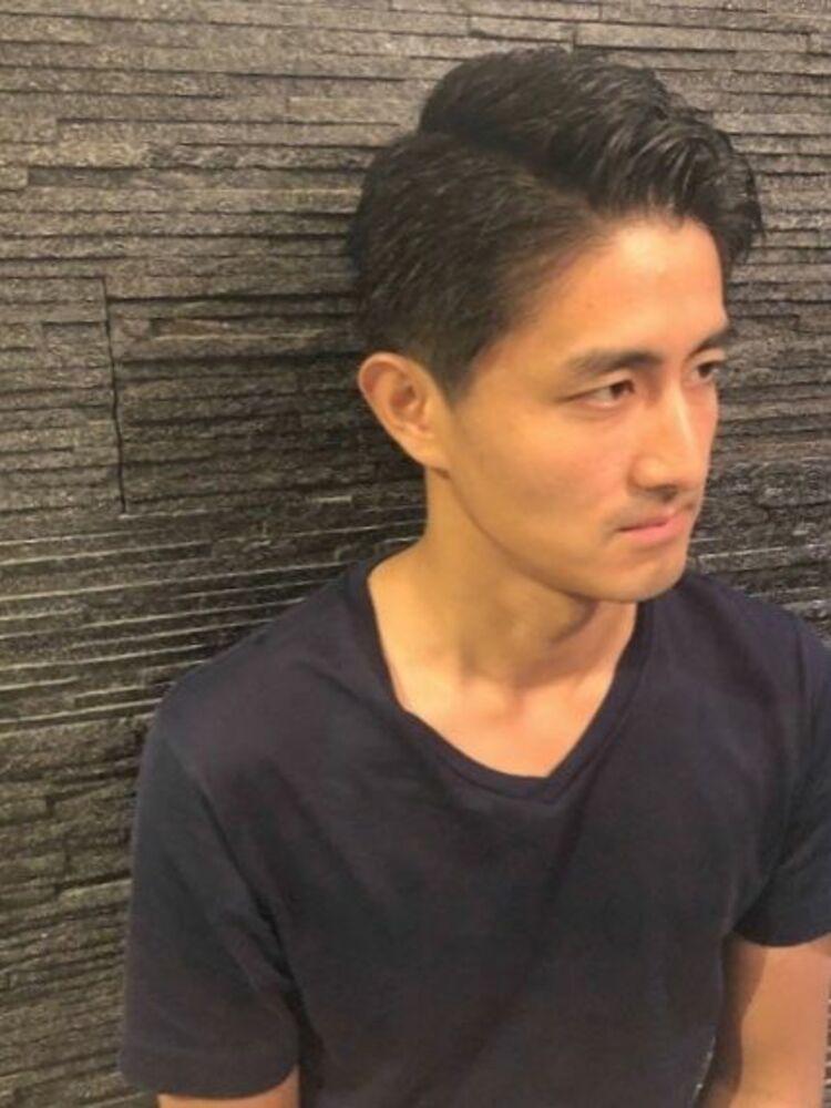 ビジネスショート×男の短髪