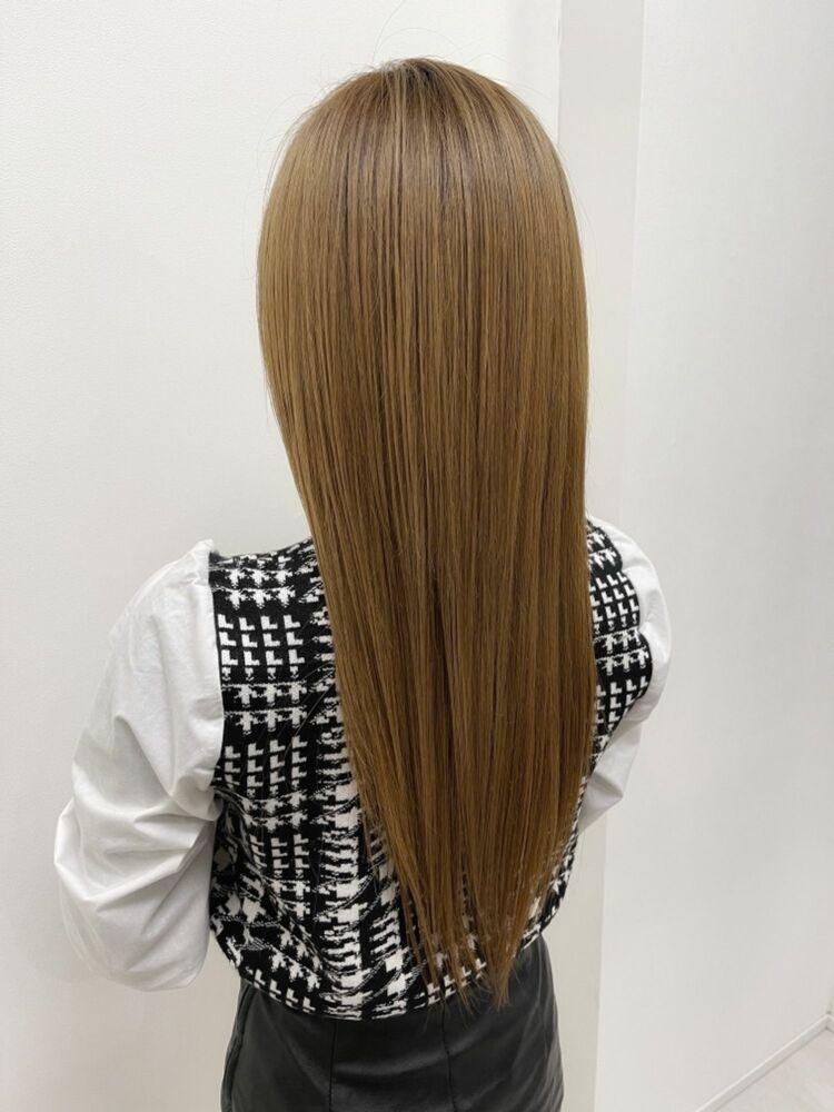 髪質改善☆メチャサラストレート