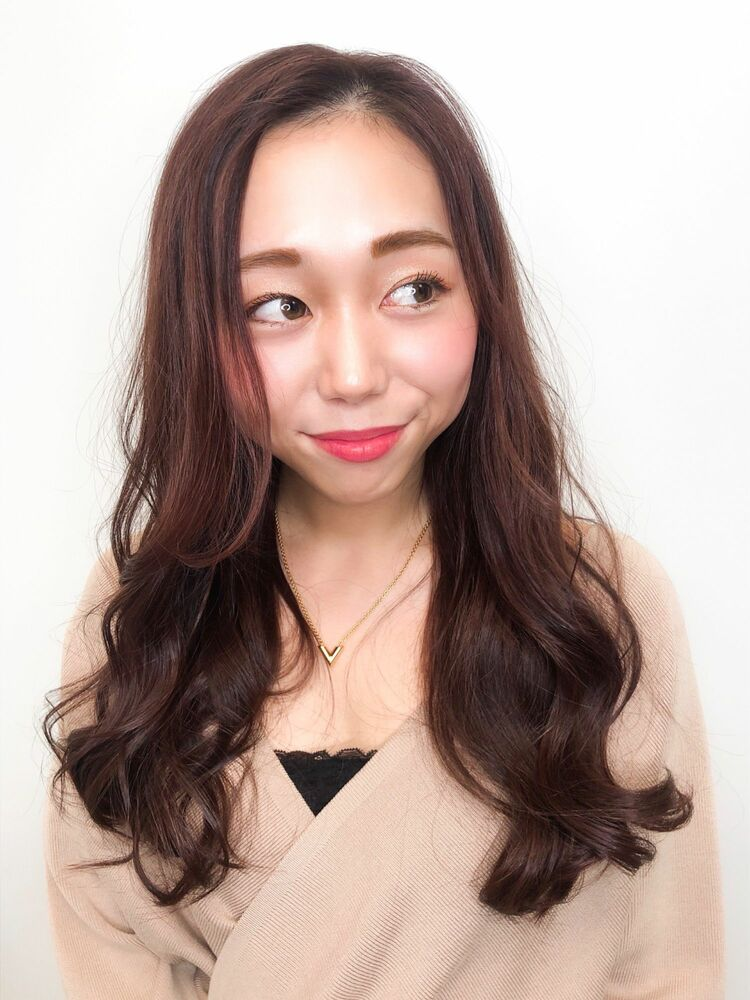 大人かわいい☆愛されピンクベージュ