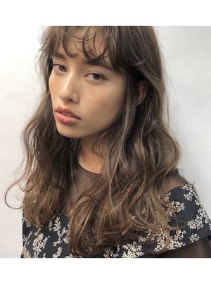 apish銀座/tomoスタイル ゆるパーマ