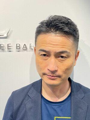 【40代.50代】イケおじショート