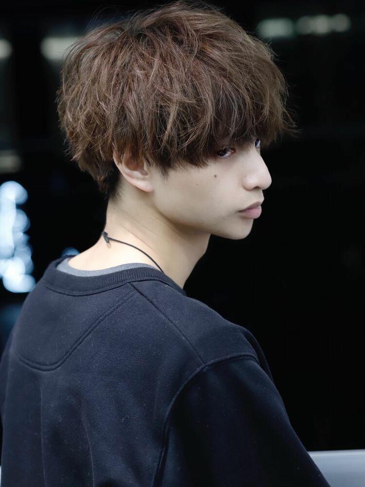 前髪ローライト