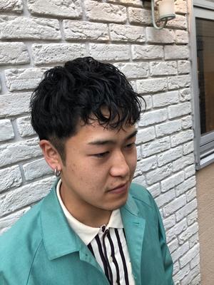 松田翔太風ミックスパーマ